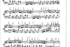piyano Bir gül-i rânâya gönül bağladım ilk Notacı Hacı Emin Efendi 1