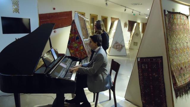 Piyanist Güneş Yakartepe Isparta Belediyesi Piano Piyano Çal Çalma Çalmak