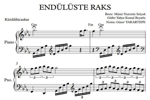 enduluste_raks_piyano_notasi