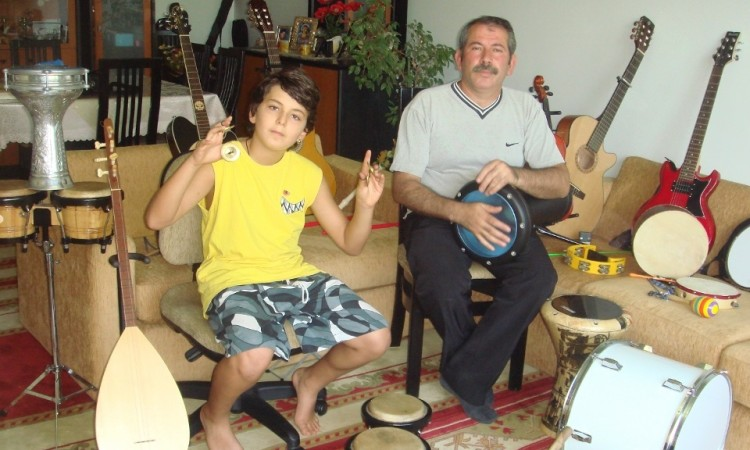 güneş yakartepe küçük çocuk rekor enstrumanı küçük müzik aletleri son ideal