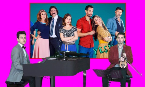 Yeşil Deniz Dizi Jenerik Müzik Ana Film Esas Piyano TRT1 TRT 1