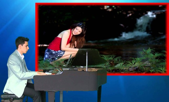 Eagles Grup Hotel Kaliforniya Yabancı Pop Rock Müzik Piano