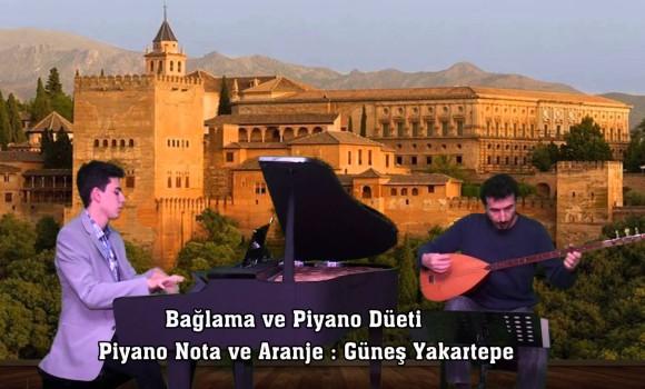 Devrent Deresi Duman Bürüdü Piyano Bağlama Yöre Denizli türk halk müzikleri türkü yöreleri türküleri piyano genç solist piyanist Müziği