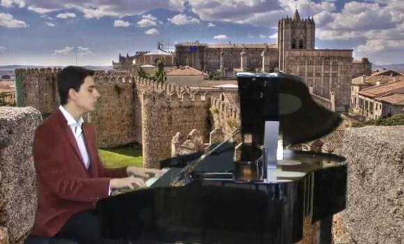 Akordeon ile Papatya Gibisin Beyaz İnce Türkçe Sözlü Tango