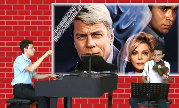 GÖREVİMİZ TEHLİKE Yabancı Film Müzik Piyano Keman
