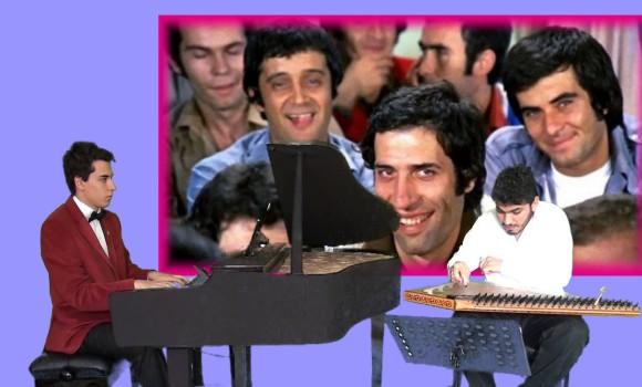 Hababam Sınıfı Sinema Jenerik Şarkı Piyano ve Kanun Düeti Yüklendiği yer Ha babam Sınıf okul Lise yeşilçam Sineması Jenerikler Şarkısı Piyanoları ve Kanun Düetleri