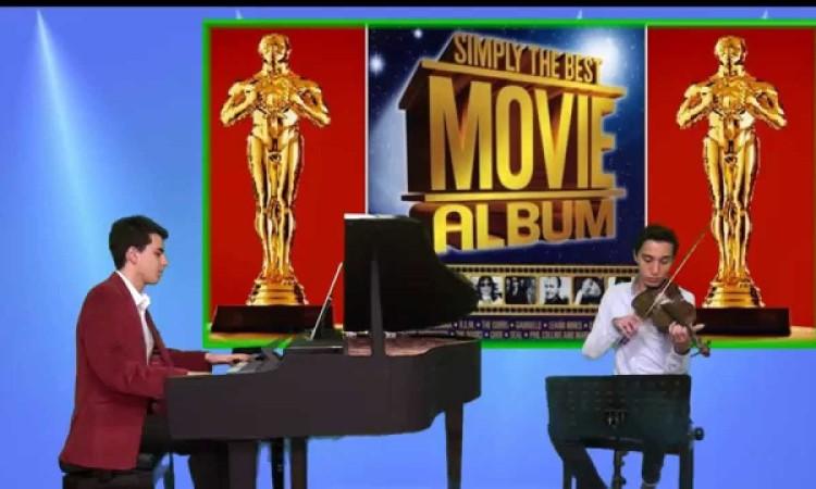 Titanik Sinema Film Müzikleri Piyano ve Keman Şarkı