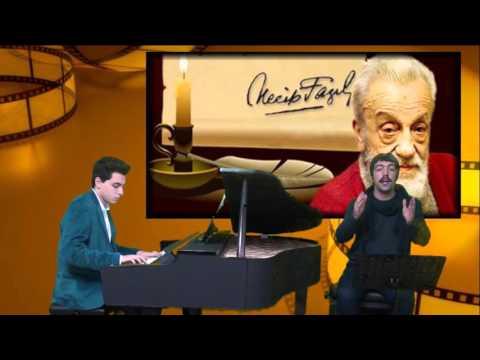 Zindandan Mehmed'e Mektup Şiiri Şair: Necip Fazıl Kısakürek Piyano Eşliğinde Şiir Okumak