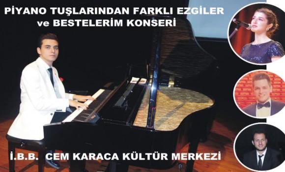 Gel Sen Bize Akşam Yine Mehtap Görünsün Beste: Muzaffer İlkar Piyano Düzenleme: Güneş Yakartepe Piyano Ney Kemancı ve Solist