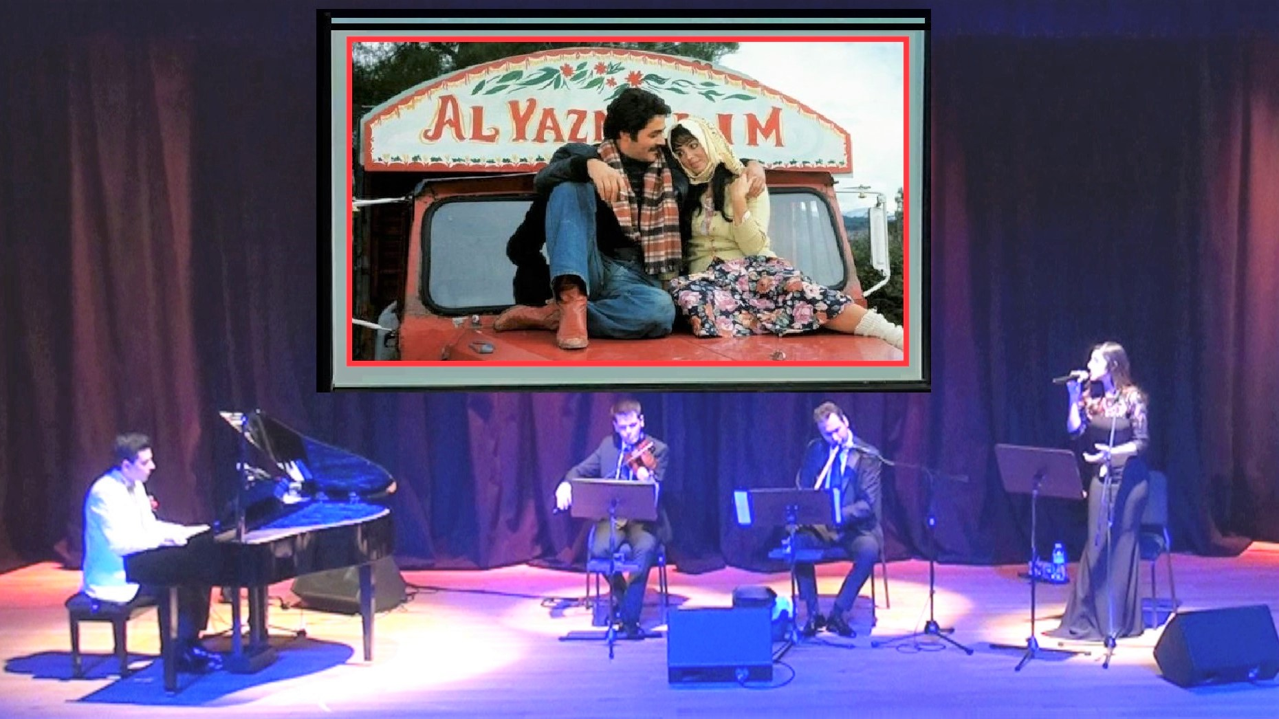 Selvi Boylum Al Yazmalım Piyano Keman Ney Güneş Yakartepe Türk Sinema Klasikleri Film Müziği En Güzel Yeşilçam Unutulmaz Sinema Nostalji Jenerik Şarkılar Enstrümantal Konseri