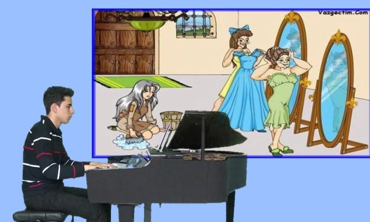 Cinderella Külkedisi Sindirella Çocuk Sinema Film Müzik