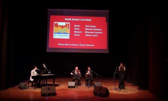 KALBE DOLAN O İLK BAKIŞ UNUTULMAZ Türk Sanat Müziği Piyano Konseri Her Telden Şarkı Keman Ney Kaval