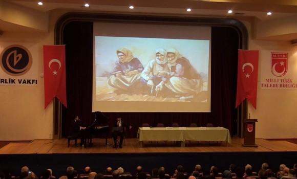Yurdumun Anaları Söz ve Beste Güneş Yakartepe MTTB Milli Türk Talebe Birliği Konseri Salonu