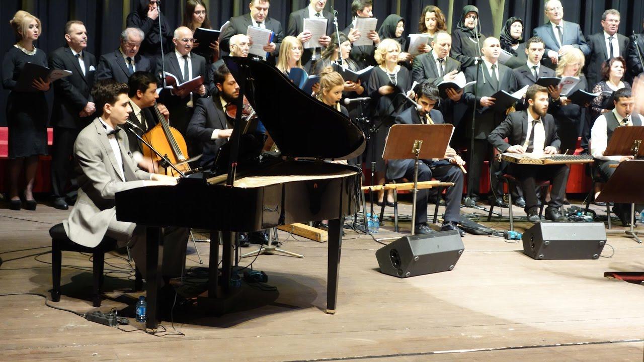 I Love You Piyano-Kanun Enstrümantal Müzik Güngören Belediye Türk Sanat Müziği Korosu İbb Konseri
