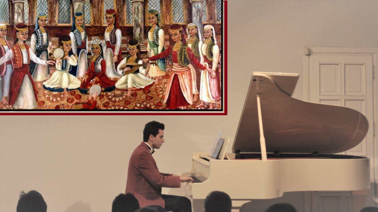 Piyano Enstrümantal ÇEÇEN KIZI Klasik Türk Müziği Tanburi Cemil Bey Osmanlı Sarayı Saz Eserleri