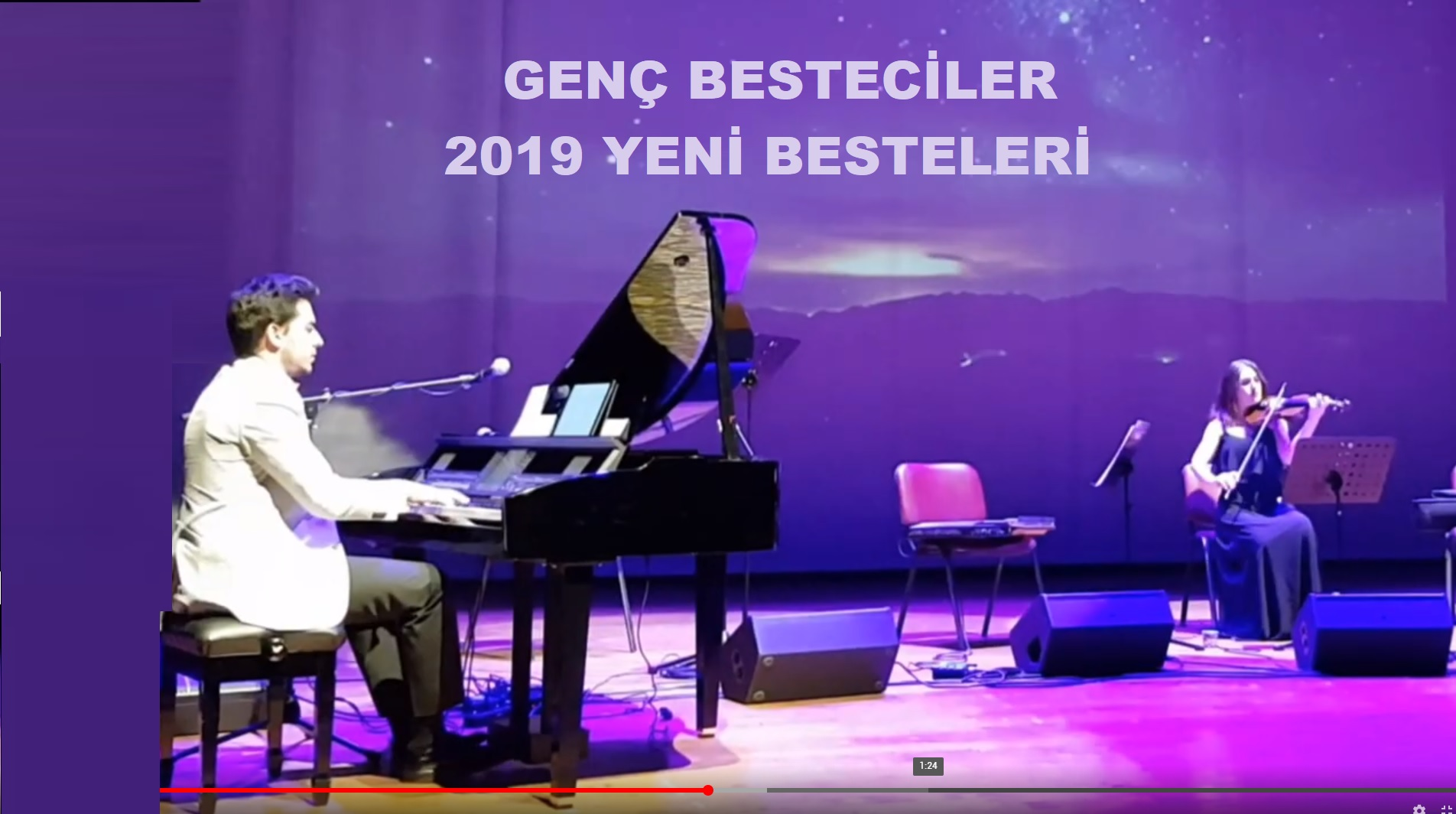 Yeni Klasik Müzik Bestesi GECE KEMAN Ve PİYANO. Nocturne Piano Violin Besteci Güneş Yakartepe 2019 Klasik Batı 2019 En Güzel Yeni Son Amatör Bestesi Eseri 2019 Yeni Beste Nocturn Enstrümantal